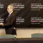 Embattled President of MD Anderson Steps Down
